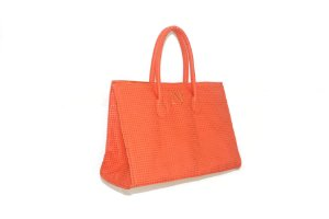Bolsa modelo Fádia laranja personalizada