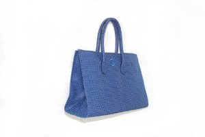 Bolsa modelo Fádia azul