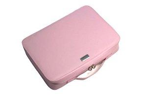 Pasta para notebook rosa personalizada