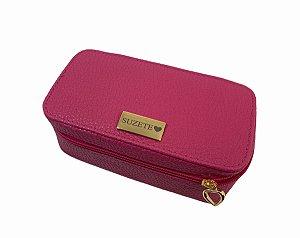 Necessaire Leticia P pink personalizada