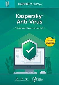 Kaspersky Anti Vírus 1 Usuário 1 Ano BR Download