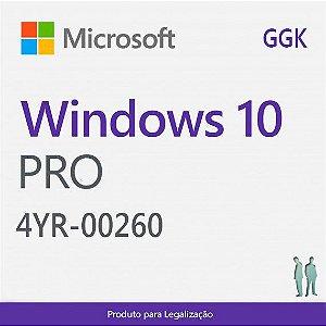 Win Pro 10 GGK 64bit Brazilian 1PK DSP OEI DVD