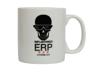 "Caneca ""Implantando ERP"" 320ml"
