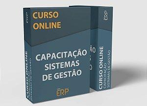 """Curso online """"Capacitação Sistemas de Gestão ERP"""""""