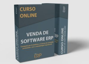 "Curso online ""Venda de Software ERP"""