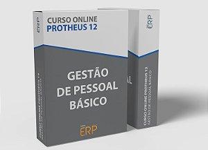 """Curso online """"Protheus 12 - Gestão de Pessoal Básico"""""""