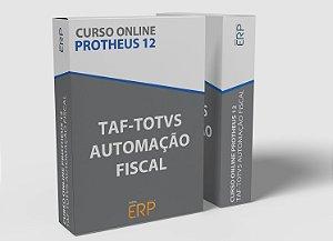 """Curso online """"Treinamento TAF-Totvs Automação Fiscal"""""""