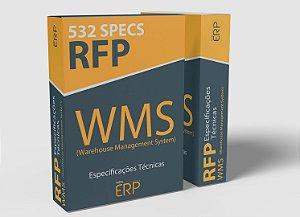RFP WMS | Especificações técnicas WMS Warehouse Management System | 532 specs