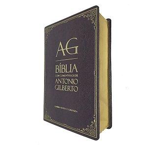 Bíblia Com Comentários De Antonio Gilberto Vinho - Cpad