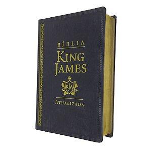 Bíblia De Estudo King James Atualizada Grande Preta
