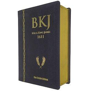 Bíblia King James Com Estudo Holman 1611 - Preta  - BV Books