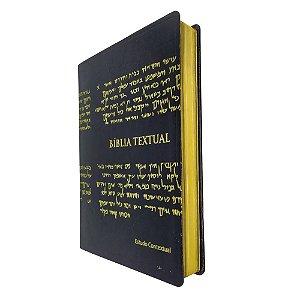 Btx Bíblia Textual Com Estudo Contextual - Preta - BV Books