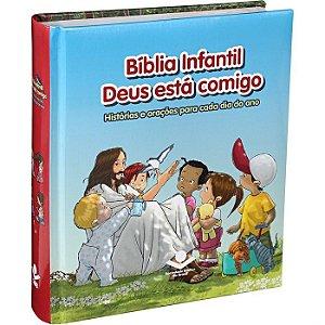 Bíblia Infantil Deus está comigo - SBB