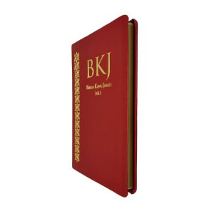 Bíblia King James 1611 Fiel Slim Ultra Fina Vermelha