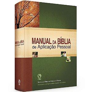 Livro Manual da Bíblia Aplicação Pessoal - CPAD