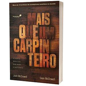 Livro Mais Que Um Carpinteiro  - Josh e Sean McDowell