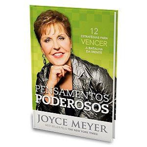 Livro Pensamentos Poderosos - Joyce Meyer - Bello