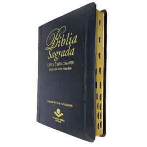 Bíblia Sagrada RA Letra Extragigante - Luxo Preta - Sbb
