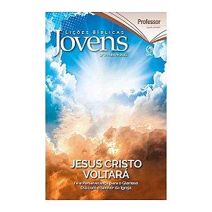 Revista Lições Bíblicas Jovens Profº 4º Trimestre de 2021