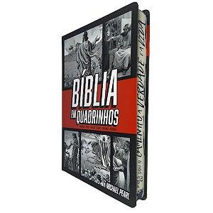 Bíblia em Quadrinhos Capa Dura Vermelha - Geográfica