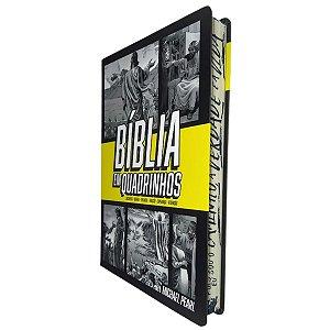 Bíblia em Quadrinhos Capa Dura Amarela - Geográfica