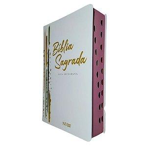 Bíblia NVI Letra Gigante Semi Luxo Listras - Geográfica