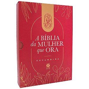 A Bíblia Da Mulher Que Ora Grande Expandida Vinho