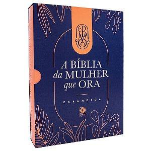 A Bíblia Da Mulher Que Ora Grande Expandida Salmão