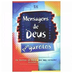 Livro Mensagens De Deus Para Garotos - AD Santos