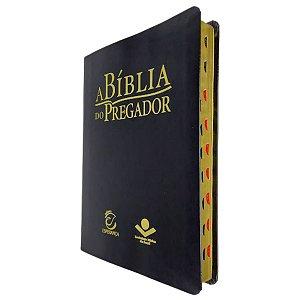 A Bíblia Do Pregador RC Grande Capa Preto Nobre - Esperança