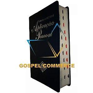 Bíblia de Estudo Aplicação Pessoal Média - Azul - Cpad