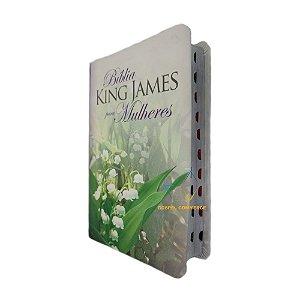Bíblia King James Para Mulheres - Florida Com Índice - Bv Books