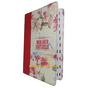 Bíblia da Mulher Virtuosa Com Índice - Red- Atos