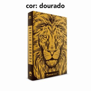 Bíblia Sagrada Leão Luxo NVI - JesusCopy