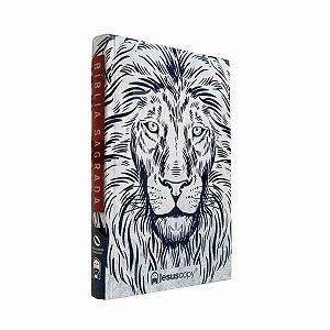 Bíblia Sagrada Leão Branco NAA - JesusCopy