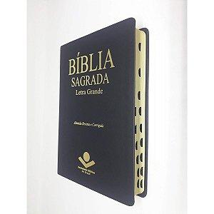 Bíblia Sagrada Letra Grande Preta - Sbb