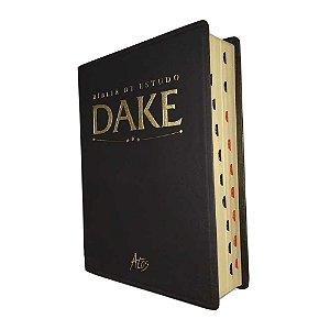 Bíblia de Estudo Dake Com índice - Preta - Atos