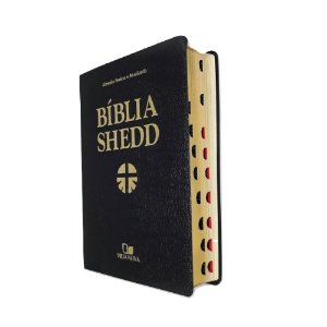 Bíblia De Estudo Shedd Preta Covertex - Com Índice - SBB VN