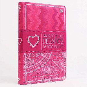 Biblia De Estudo Desafios De Toda Mulher Indice Letra Normal