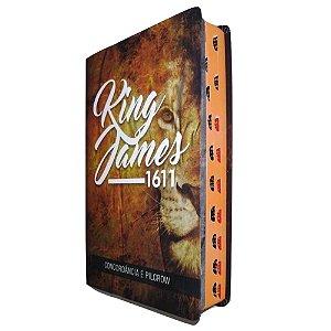 Bíblia King James 1611 – Standard Leão Luxo - BvBooks