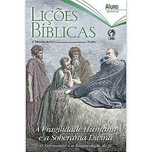 Revista Lições Bíblicas Adultos Aluno 4º Trimestre de 2020