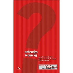 Livro Entendes o que lês -  Gordon D. Fee - Douglas Stuart