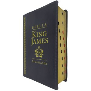 Bíblia De Estudo King James Atualizada Grande Preta Índice