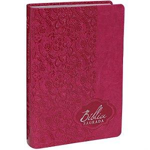 Bíblia Sagrada RA Letra Gigante PINK - SBB