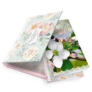 Box Pao Diario Mulheres E Caderno