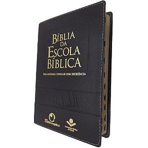 Bíblia da Escola Bíblica Preta - Almeida Revista e Atualizada