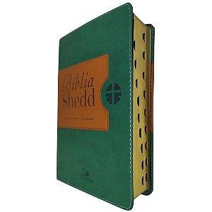 Biblia Shedd - Verde E Marrom