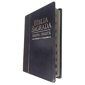 Bíblia Sagrada Concordância, Dicionário e Harpa Cristã Azul