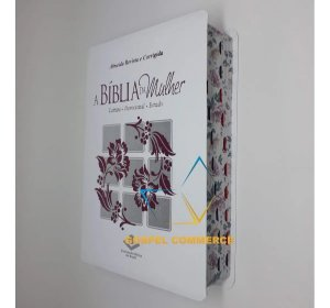 A Bíblia Da Mulher - Floral Com Índice Média - Sbb