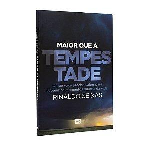 Livro Maior que a Tempestade - Rinaldo Seixas